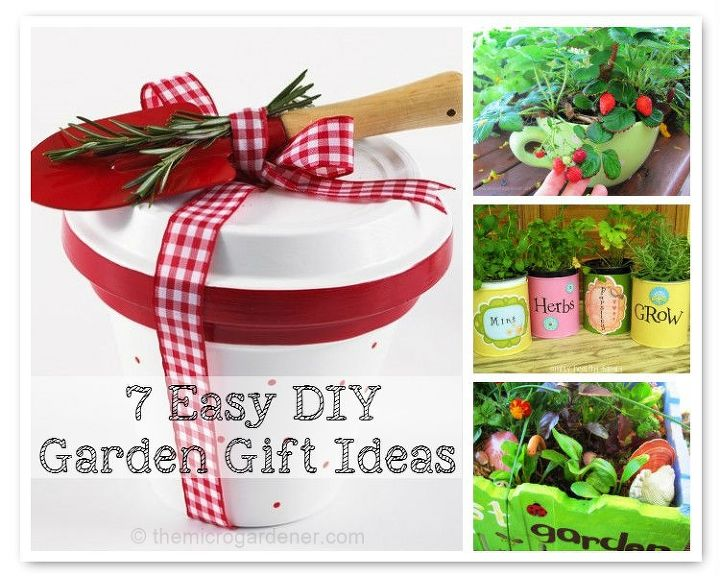 7 easy diy garden gift ideas hometalk 7 easy diy garden gift ideas container gardening flowers gardening a few workwithnaturefo