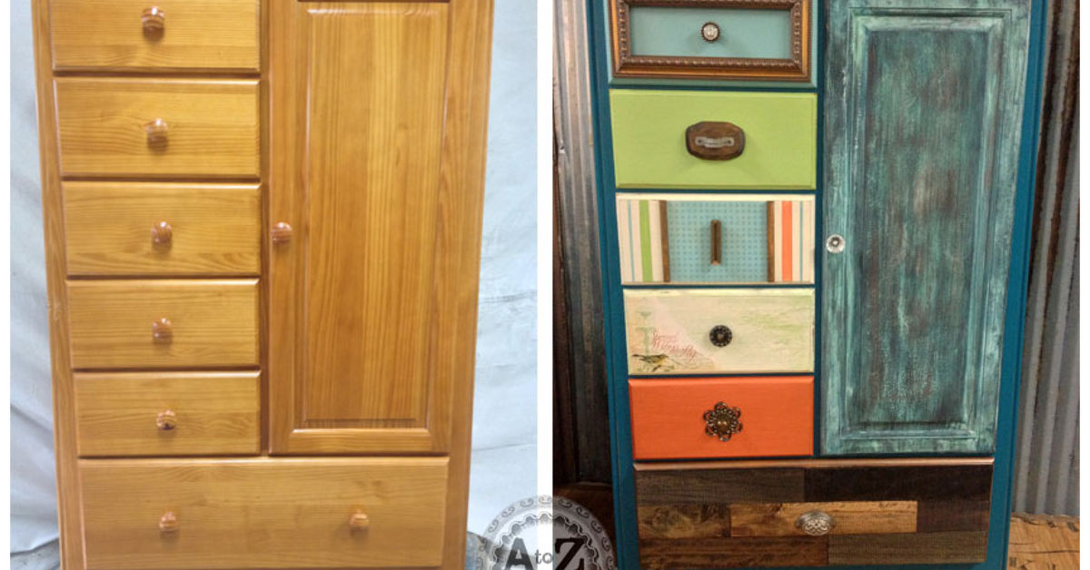 Upcycled Furniture Before And After - Furniture Designs