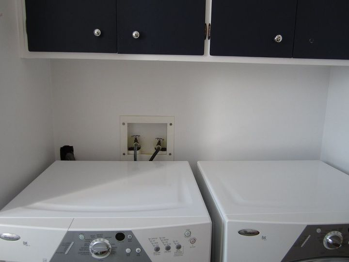 q hiding the washer and dryer plumbing, appliances, laundry rooms, plumbing