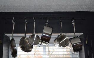 DIY Hanging Pot/pan Rack   Hometalk