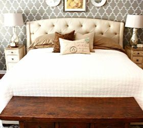 Master Bedroom Makeover Using A Cutting Edge Stencil, Bedroom Ideas, Chalk  Paint, Home