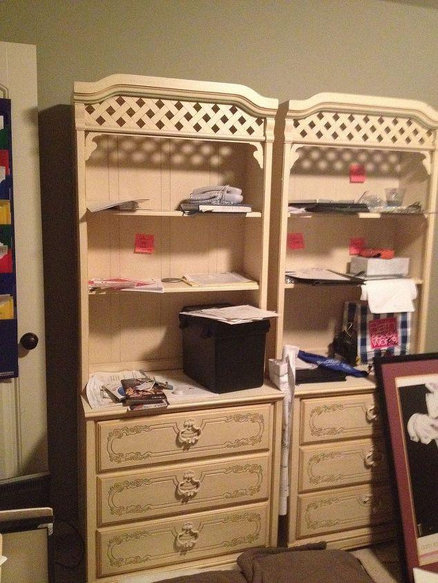 Ideas for repurposing 70\'s girls\' childhood bedroom set ...