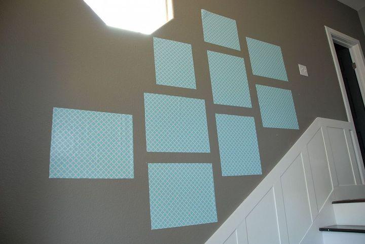 1 photo wall template, home decor, wall decor