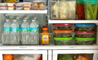 my organized fridge, appliances, kitchen design, organizing