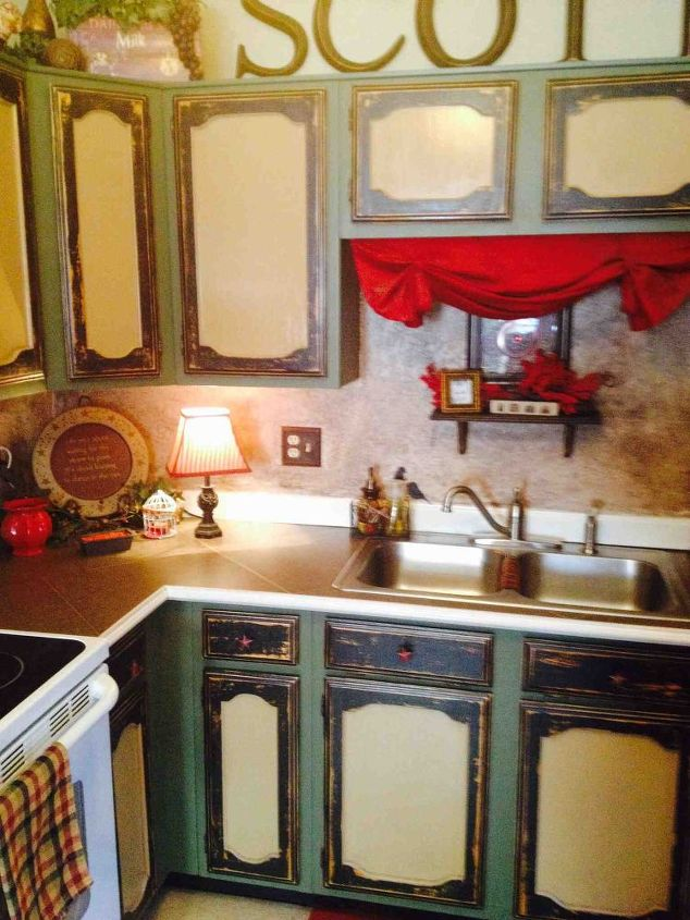 new but old, kitchen cabinets, kitchen design, painting