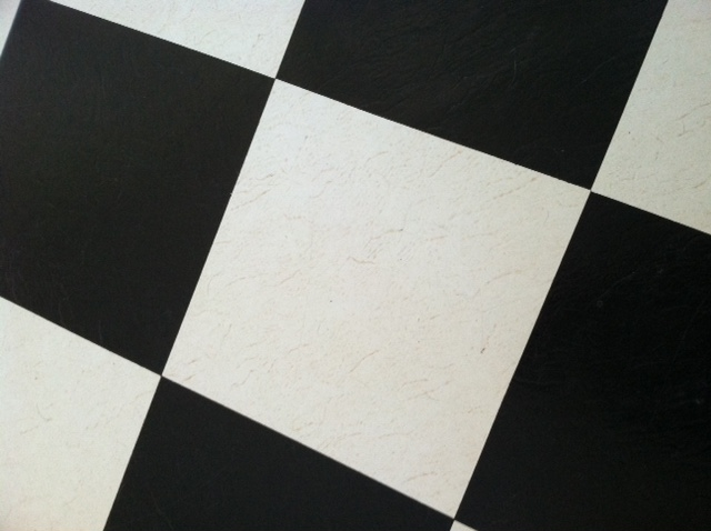 How To Clean And Brighten White 20 Inch Vinyl Tiles On Kitchen Floor