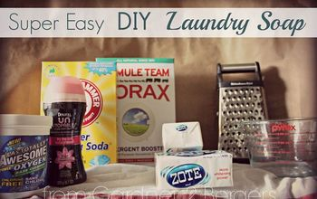 super easy amazing diy laundry detergent, cleaning tips