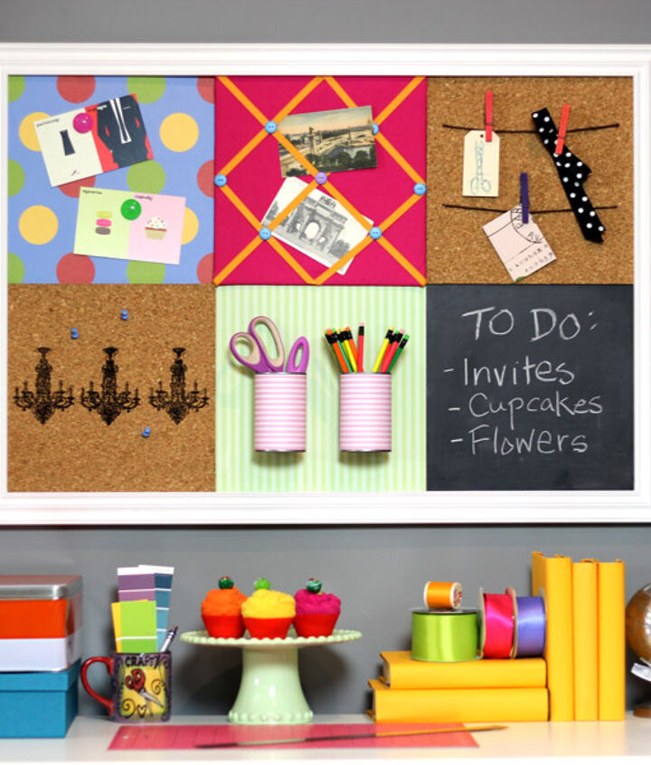 Diy Pottery Barn Teen Inspired Bulletin Board System Hometalk