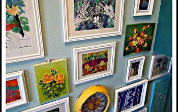Children's Art Gallery Wall