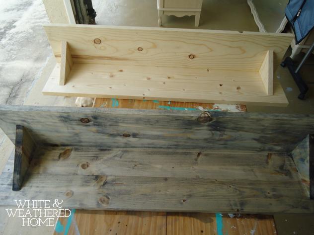 Diy Driftwood Weathered Grey Wood Finish Tutorial Hometalk