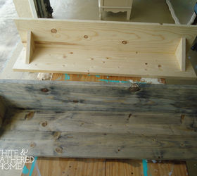 Charmant Diy Driftwood Weathered Grey Wood Finish Tutorial, Diy, How To, Painted  Furniture,