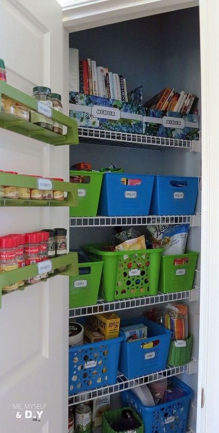 Pantry organization rocks!