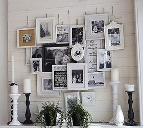 Ordinaire Layered Photo Frames Mantel A Different Kind Of Gallery Wall, Fireplaces  Mantels, Home Decor