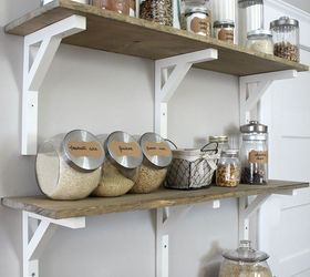 Open Shelving Pantry, Closet, Home Decor, Kitchen Design, Shelving Ideas