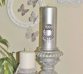 Nice Home Decor Accents Part - 13: Wall Gallery For Small Wall 5 Of 5 White And Silver D Cor Accents, Crafts