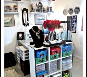 Craft Room Office and Closet in One Hometalk