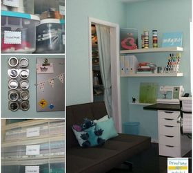 Craft Room Simple Spacious And All Diy On The Cheap, Craft Rooms, Home Decor Part 87