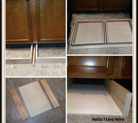 Under Cabinet Drawers | Hometalk