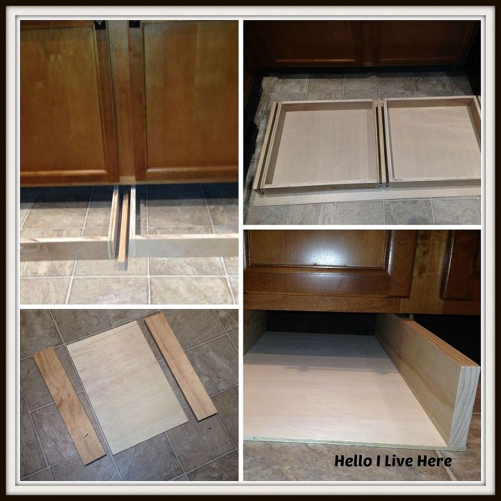 Installing The Drawers And Cradles Under Cabinet