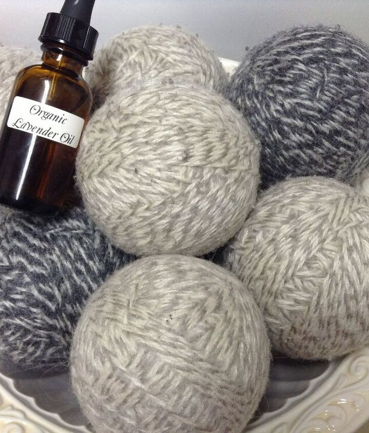 I scent my dryer balls with lavender, my favorite scent!