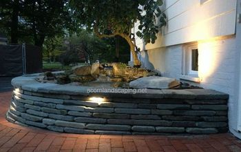 fish pond pond design pond installation monroe county rochester ny, landscape, outdoor living, ponds water features, Landscape Lighting Pond Lighting Monroe County Rochester NY Certified Aquascape Contractor of Monroe County Rochester NY Service areas include Rochester NY Webster NY Greece NY Brighton NY Pittsford NY Penfield NY Fairport