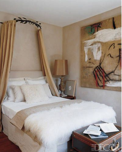 Bed canopy bedroom decorating ideas diy canopy bed for Canopy over bed