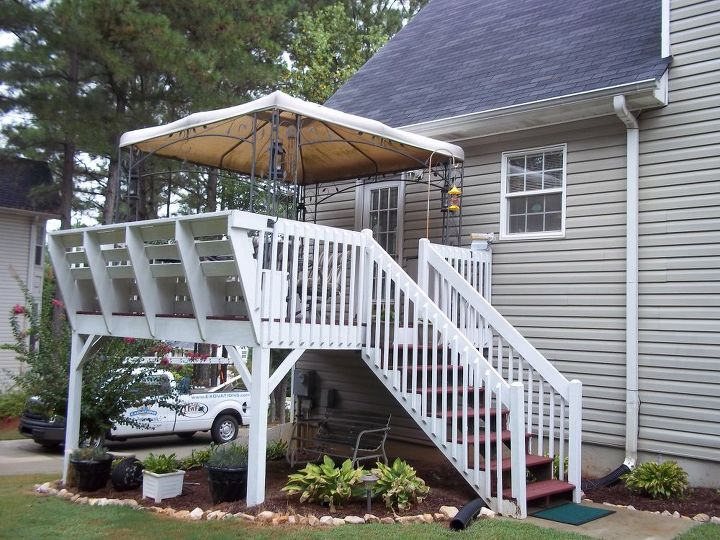 someone is getting a new deck for christmas which makes me wonder if you could, decks, outdoor living, BEFORE