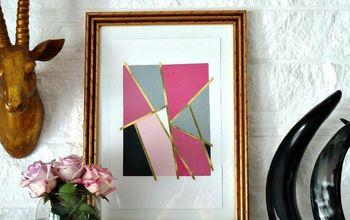 DIY Mondrian Inspired Art