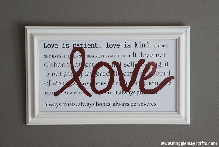 fun way to display favorite quotes or verses, crafts, home decor, painting