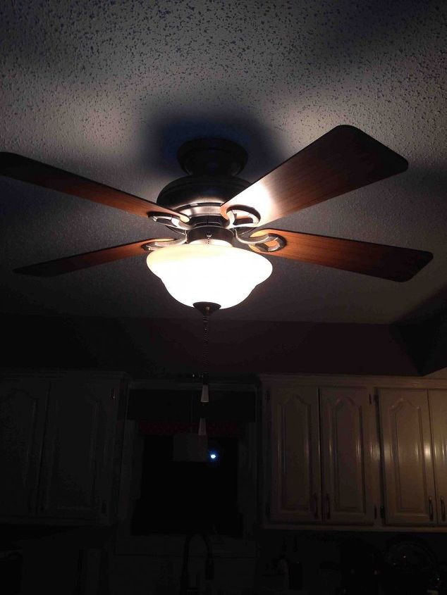 Ceiling fan make over hometalk ceiling fan make over crafts decoupage home decor kitchen design lighting aloadofball Image collections