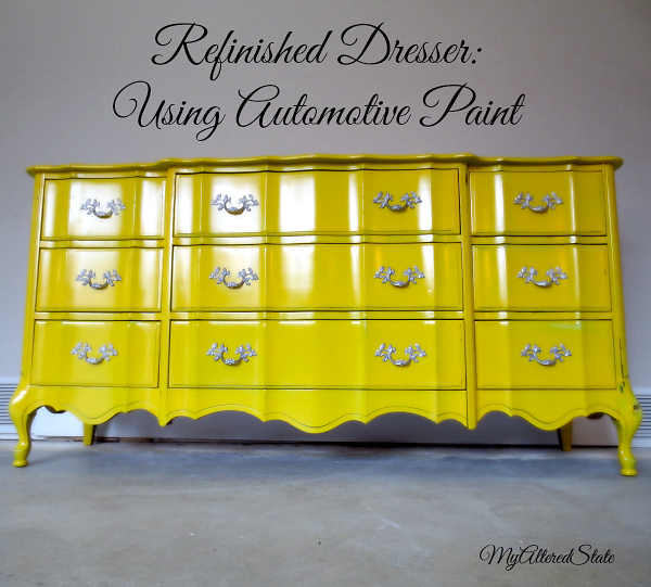 paint furnitureRefinished French Provincial  High Gloss Furniture  Automotive