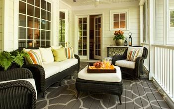 How to Paint a Design on Your Porch Floor