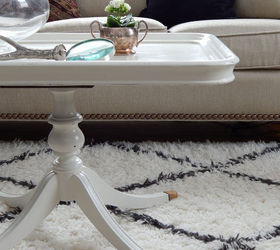 Antique White Coffee Table, Home Decor, Living Room Ideas, Painted Furniture