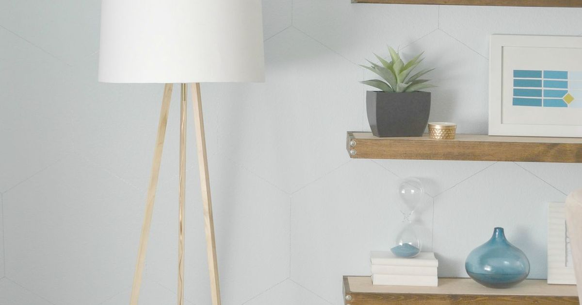 Diy tripod floor lamp a west elm knock off hometalk solutioingenieria Choice Image