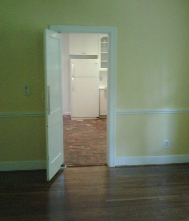 BEFORE - Vacant Dining Room