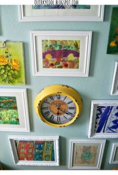 a beautiful art gallery wall, crafts, foyer, home decor, wall decor
