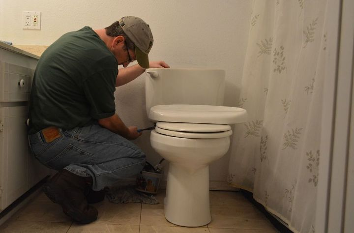 fix it or throw it away diy or bring in the pros, appliances, home maintenance repairs, how to, repurposing upcycling, The ever running toilet valve No plumber service call