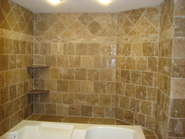 travertine tile jacuzzi, bathroom ideas, tiling, travertine tile installation Berlin nj