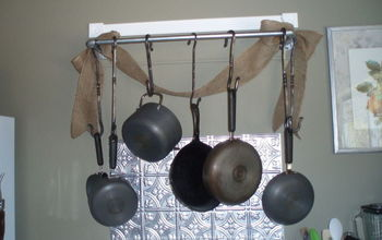Kitchen Pot Rack - Industrial Style