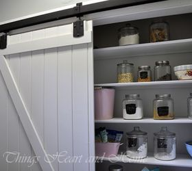 adding a pantry w a sliding barn door closet doors kitchen design when