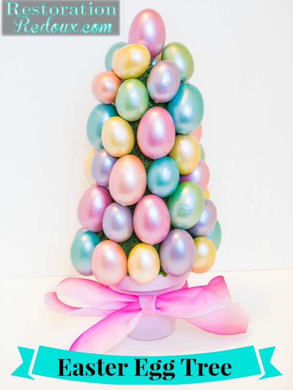 easter egg trees, crafts, easter decorations, seasonal holiday decor, Easter Egg Tree