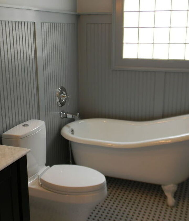 After- new tub