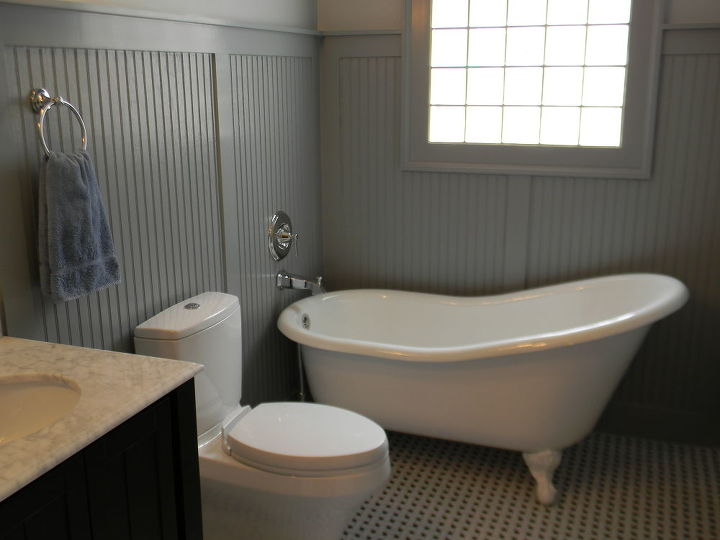 pretty in pink for the most part if the bathroom is pink our designers come up, bathroom ideas, home decor, After new tub