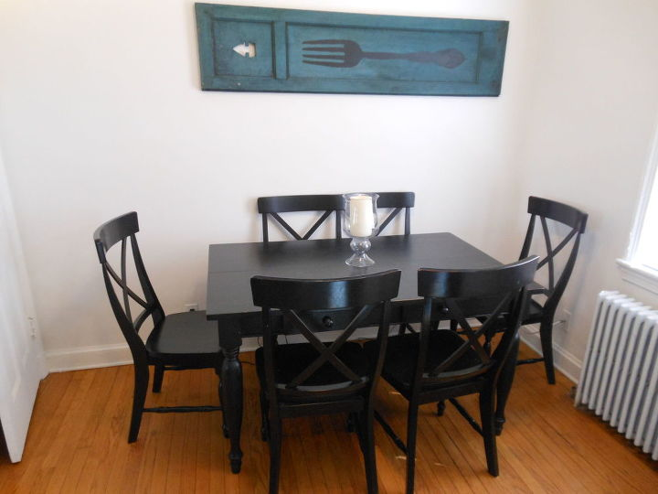 Before and After: Painted Dining Table Top to Refinished Natural ...