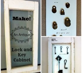 Diy Antique Lock And Key Display Cabinet, Diy, Home Decor, How To,