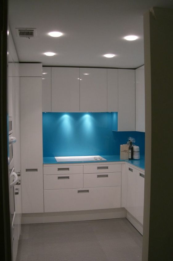 this installation is for a client who had a dream about her kitchen being all white, home decor, kitchen backsplash, kitchen design, view in from the hall
