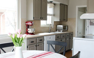 kitchen update on a budget, appliances, home decor, kitchen backsplash, kitchen design, painting