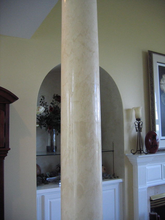Bella Faux Finishes - Italian Venetian Plaster - Columns
