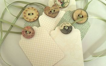 gift tags, crafts