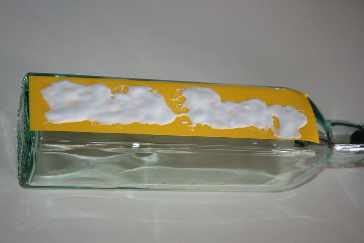 etched glass soap dispenser, cleaning tips, crafts